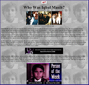 Who was Iqbal Masih?